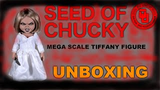 SEED OF CHUCKY - Tiffany Mega Scale Figure - UNBOXING