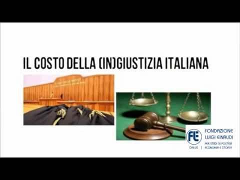 The costs of the Italian (in)justice