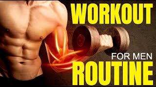 The Best Workout Routine For Men - (Beginner, Intermediate, & Advanced Plans)