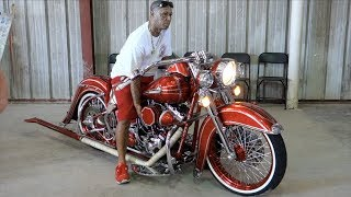 GORGEOUS Daily Ridden Custom Motorcycle Burnout | Win Or Fail?