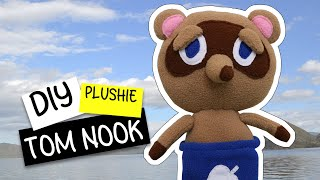 DIY Animal Crossing Tom Nook Plushie! Tom Nook Plush Toy (FREE Pattern) Tutorial