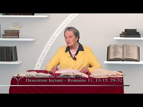 20e dimanche ordinaire A - 2e lecture