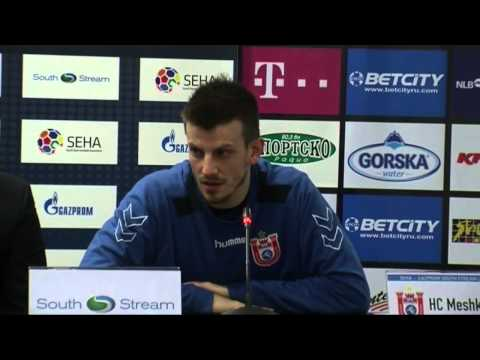 Vardar - Meshkov Brest Post-Match Press conference