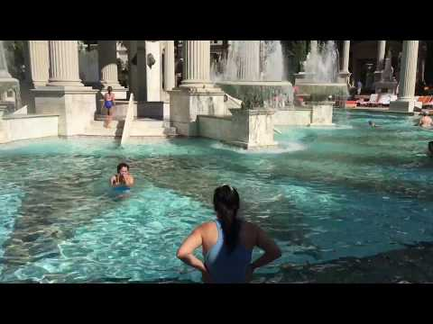 Caesars Palace Swimming Pool Walkthrough
