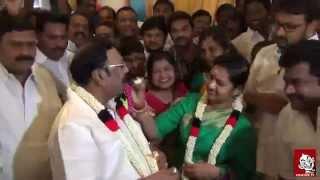 Mk Alagiri Birth Day Celebration | Vikatan Tv