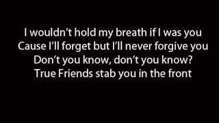"Video thumbnail of ""Bring Me The Horizon - True Friends (Lyrics)"""