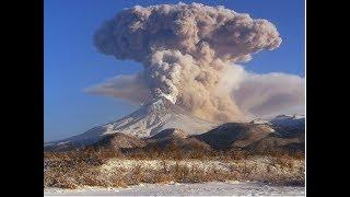 Вулкан Шивелуч выбросил десятикилометровый столб пепла. Извержение вулкана Шивелуч на Камчатке. Фото