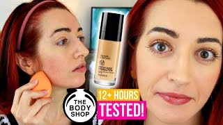 TESTED! The Body Shop Fresh Nude Foundation Review (Oh No...)