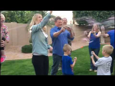 Gender Reveal Party for Such Family | LIV Fertility Center