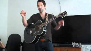 Josh Kelley Plays A Song For His Daughter