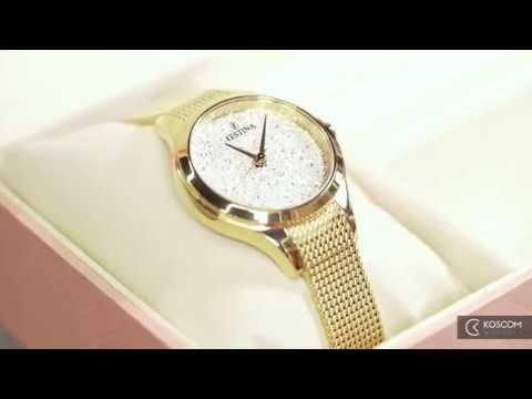 3 modely dámských hodinek Festina Swarovski [Koscom]