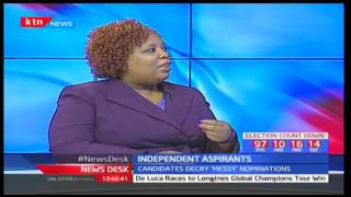 Political Analyst-Joy Brenda Mdivo speaks of IEBC's deadlines for independent candidates