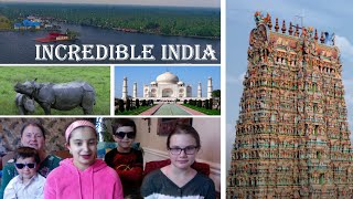 Incredible India - Travel / CNN / Americans Reaction :)