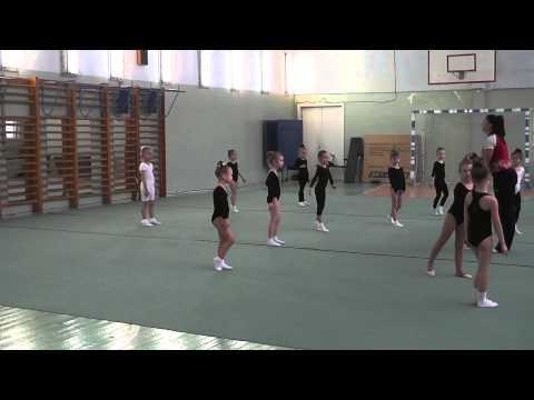 Открытый урок по художественной гимнастике (Самара) 2013