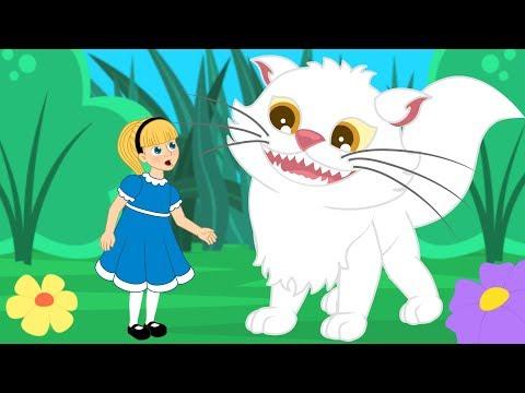 Алиса в Стране чудес сказка для детей, анимация и мультик