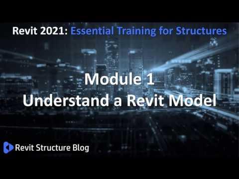 Revit 2021 Training For Structures Essentials Module 1. - YouTube