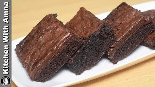 easy to make gooey chocolate brownies