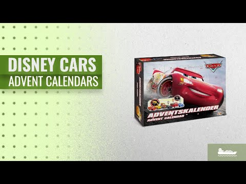 Great Disney Cars Advent Calendars [2018] | Hot Trends 2018