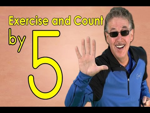 Count By 5's | Exercise And Count By 5 | Count To 100 | Counting Songs | Jack Hartmann Mp3