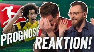 REAKTION: März Fußball Prognose feat. Bayern-CL-Aus, Schalke-Blamage und Reus der