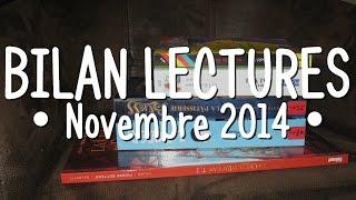 Bilan Lectures • Novembre 2014