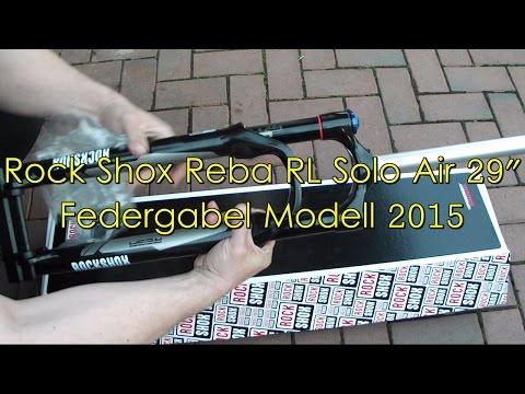 "Rock Shox Reba RL Solo Air 29"" Federgabel Modell 2015"