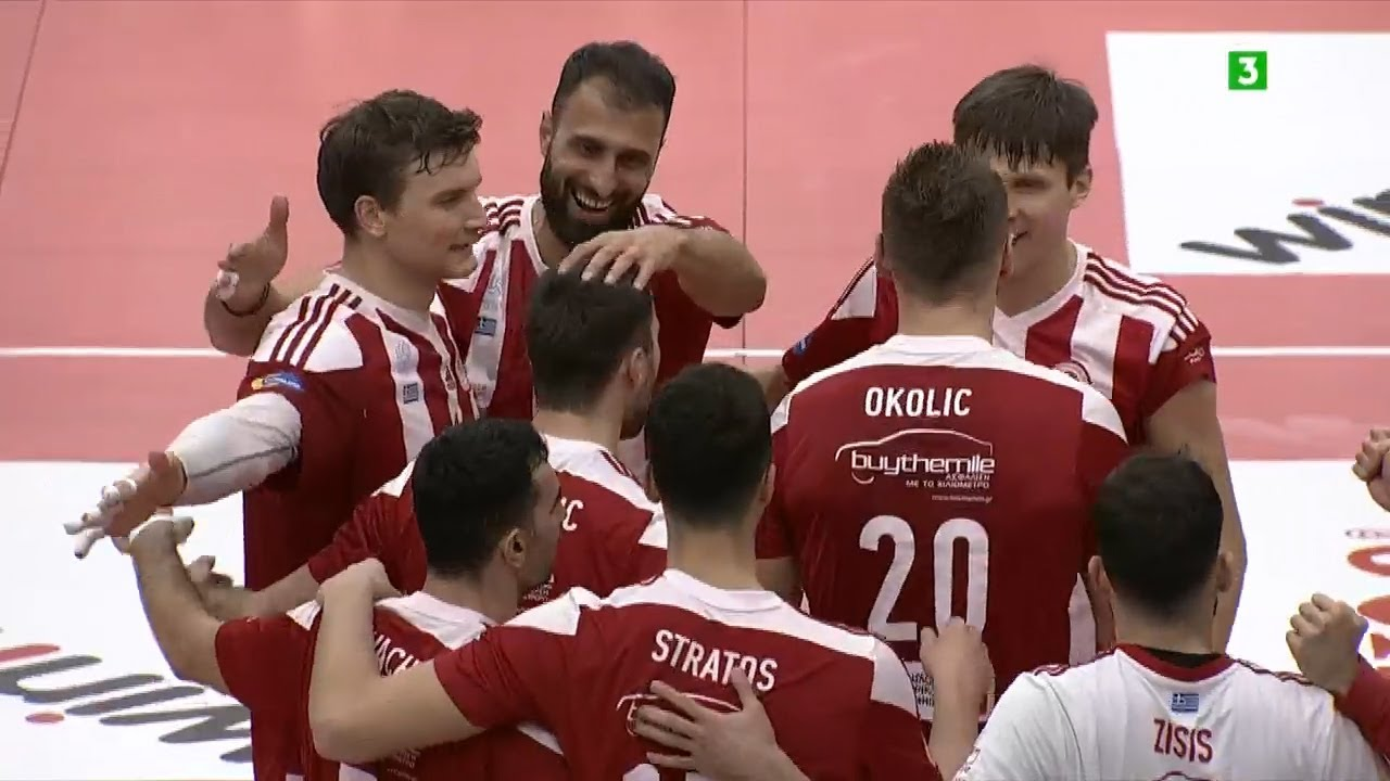 Volley League | Ολυμπιακός-Παναθηναϊκός 3-0 | HIGHLIGHTS | 04/02/2021 | ΕΡΤ