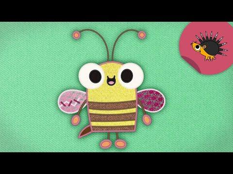 Die Biene hat ein Problem | Trickfilm | Schmusedecke | Ich kenne ein Tier | SWR Kindernetz