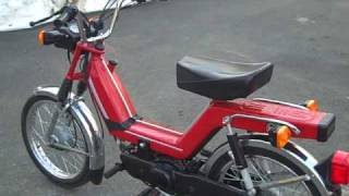 Kinetic TFR Moped Review