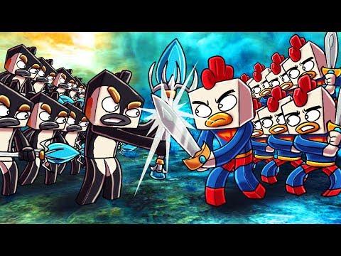 Minecraft   501 Cody Clones vs 501 Evil Joebuz! (Civil War Massive Mob Battles)