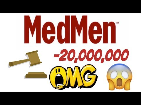 Stock market news Medmen getting sued for 20 million dollars