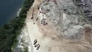 Confira imagens da construção da avenida Beira Rio, na Zona Noroeste