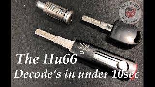 New type Hu66 Lock Pick (& How it works.)