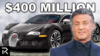 How Sylvester Stallone Spent $400 Million