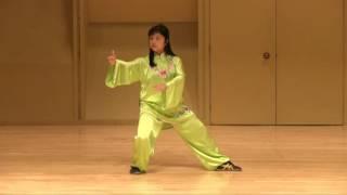 """03 24 forms Yang Style Taichi Chuan by """"Queen of Taichi """" Master Jiamin Gao of US Wushu Center"""