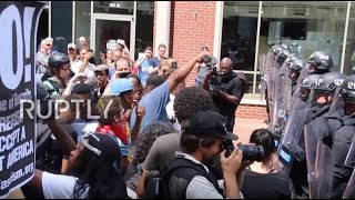 USA: War of words in Charlottesville following deadly car ramming