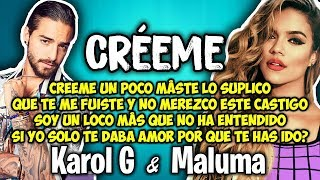 Descargar MP3 de Creeme Karol G Maluma