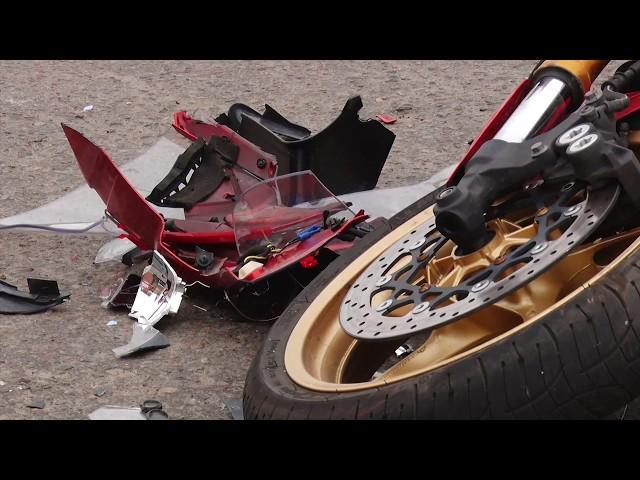 Мотогонщик стал жертвой ДТП