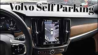 Volvo Self Parking Test Fail And Win