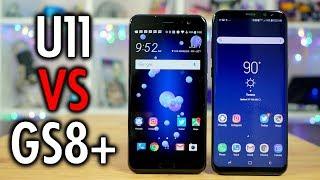 Samsung Galaxy S8+ vs HTC U11: Battle for the shiniest smartphone