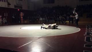 145lb. | Isaac Habimana (Concord, NH) vs. Tyler Mackiernan (Pinkerton Academy, NH)