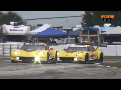 Chevrolet Corvette C7.R pure Sound at Sebring International Raceway 2019