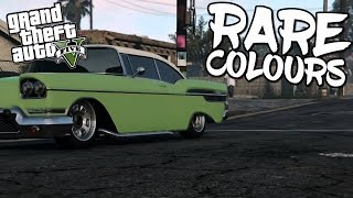 RARE TORNADO COLOURS | GTA V Tutorial
