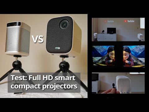 Xgimi MoGo Pro vs Xiaomi Mi smart compact projector