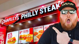 Charleys Philly Steaks Review!