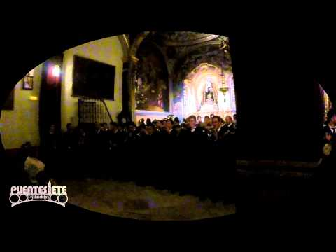 La Banda de CC y TT San Juan Evangelista en la Capilla de los Ángeles (Los Negritos)