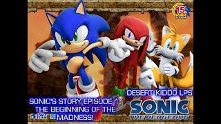 Desert Kiddo Lps Sonic Hedgehog 2006 Sonics Story Episode 1