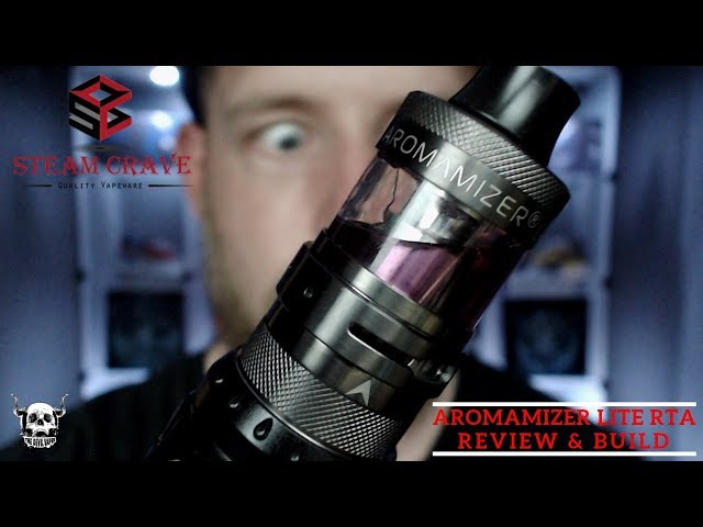 STEAM CRAVE Aromamizer Lite RTA - Review & Build!!