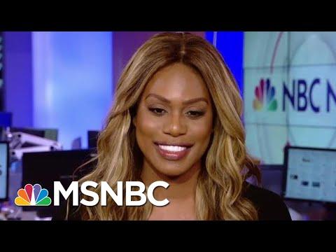 Laverne Cox: 'We Can Fight' Rollback Of Transgender Rights | Hallie Jackson | MSNBC