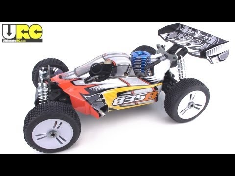 Duratrax 835B 1/8th scale Nitro buggy review